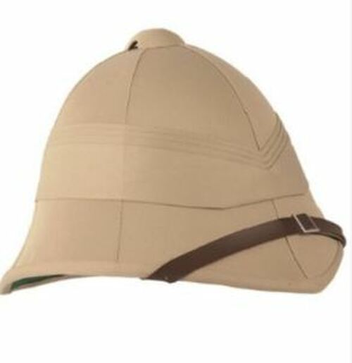 British Style Khaki Tropical Helmet