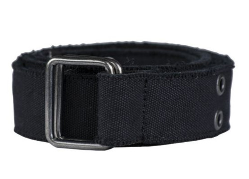 Mil-Tec Black Canvas Trouser Belt