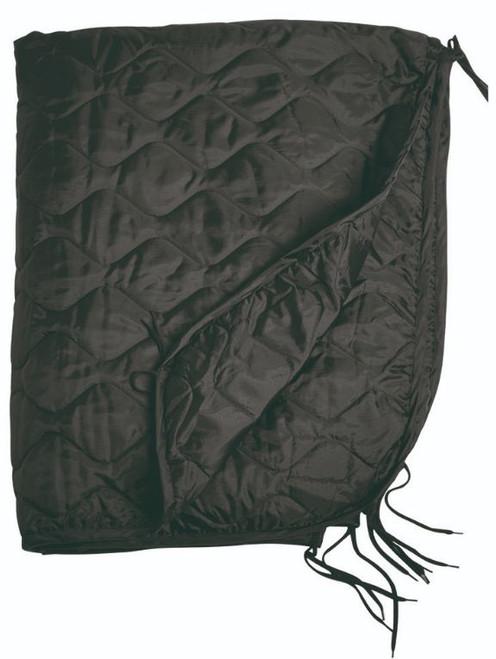 Mil-Tec Black Poncho Liner