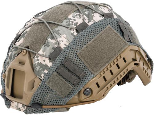 Matrix Bump Type Helmet Cover w/ Elastic Cord (Color: ACU)