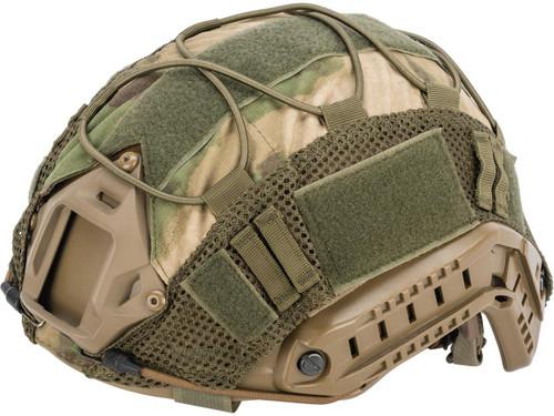 Matrix Bump Type Helmet Cover w/ Elastic Cord (Color: ATACS-FG)