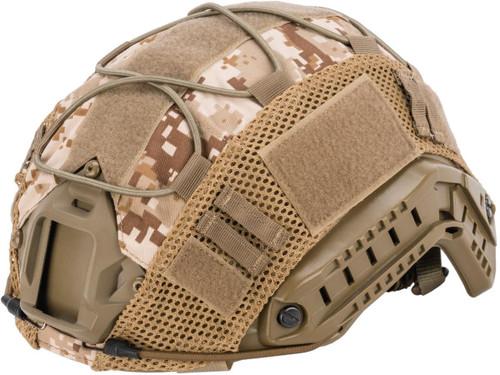 Matrix Bump Type Helmet Cover w/ Elastic Cord (Color: Digital Desert)
