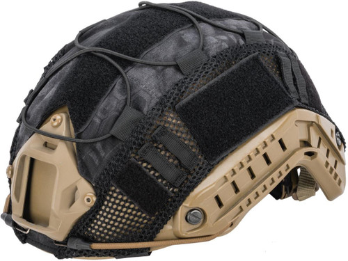 Matrix Bump Type Helmet Cover w/ Elastic Cord (Color: Typhon)