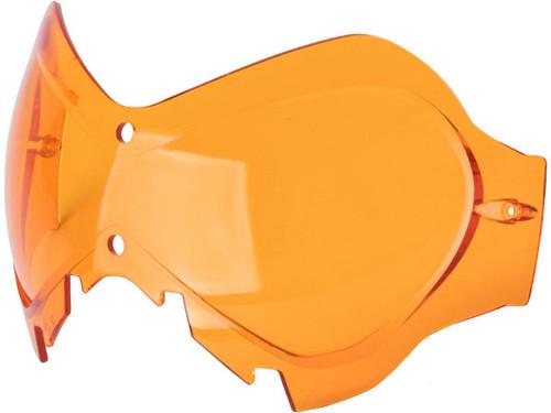"""6mmProShop Spare Lens for """"Slipstream"""" Masks (Color: Orange)"""