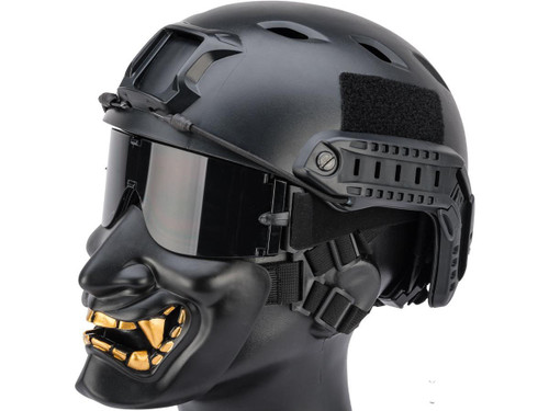 "Matrix ""Oni"" Half Mask (Color: Black)"