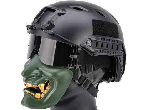 "Matrix ""Oni"" Half Mask (Color: OD Green)"
