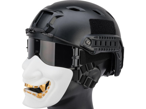 "Matrix ""Oni"" Half Mask (Color: White)"