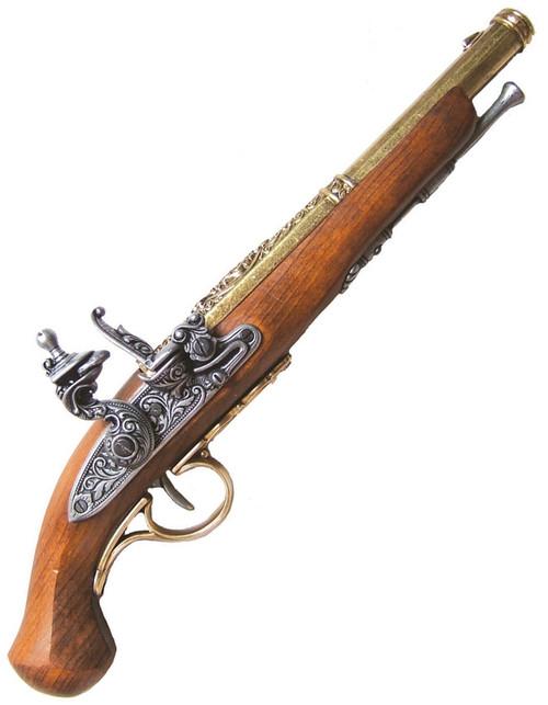 18th Century Flintlock Pistol DX1102L