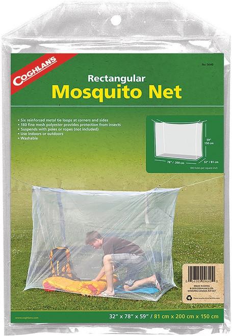 Rectangular Mosquito Net White