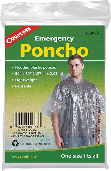 Emergency Poncho 24pk
