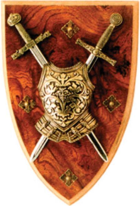 Mini Two-Sword Plaque