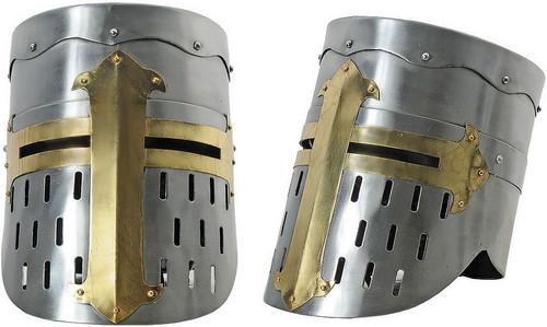 Flat Top Crusader Helmet