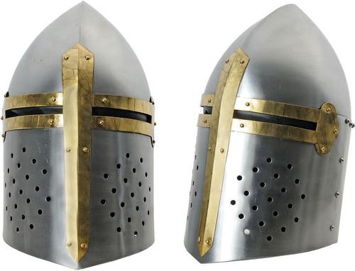 Silver Crusader Helmet