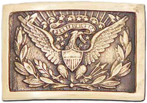 1851 Officers Belt Buckle Rep