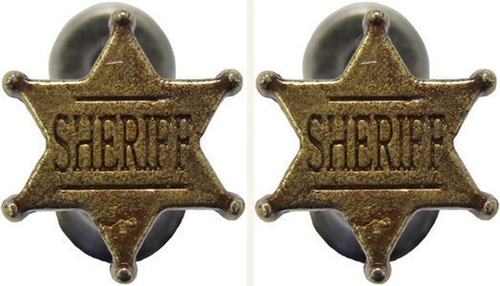 Sheriff Badge Hangers