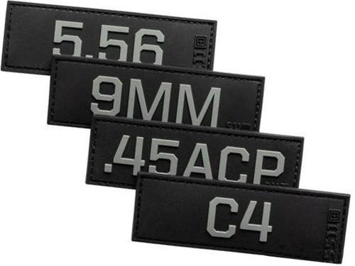 "5.11 Tactical ""Master Series"" Hook & Loop PVC Morale Patch"