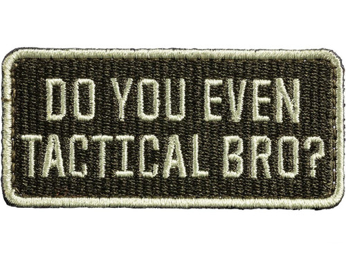 "5.11 Tactical ""Tactical Bro"" Hook & Loop PVC Morale Patch"