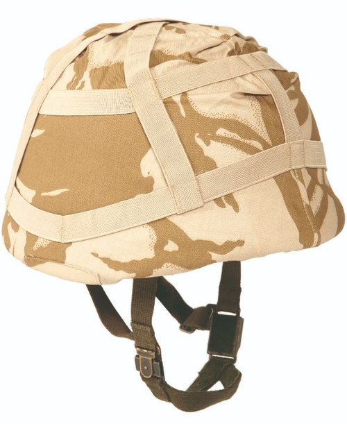 British Desert Camo Helmet Cover