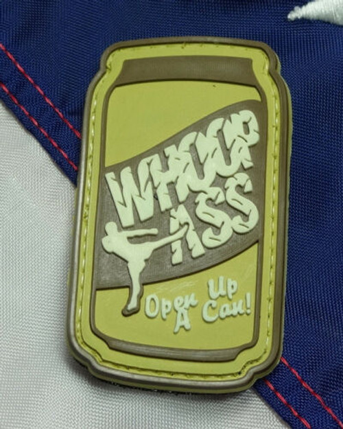 Whoop Ass Can PVC - Morale Patch