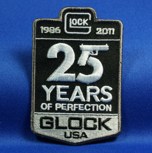 Glock 25 Years Morale Iron On - Moral Patch