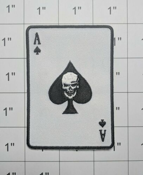 Ace Of Spades Iron On - Moral Patch