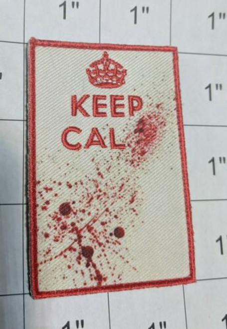 Keep Calm And Kill Zombies Hunter Response Team - Moral Patch