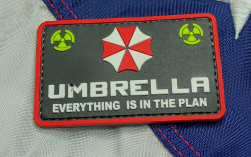 Umbrella Everything Is In The Plan PVC - Morale Patch