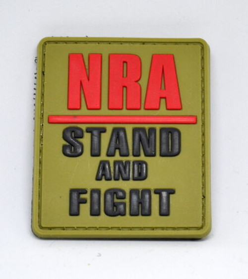 NRA Stand And Fight PVC - Morale Patch