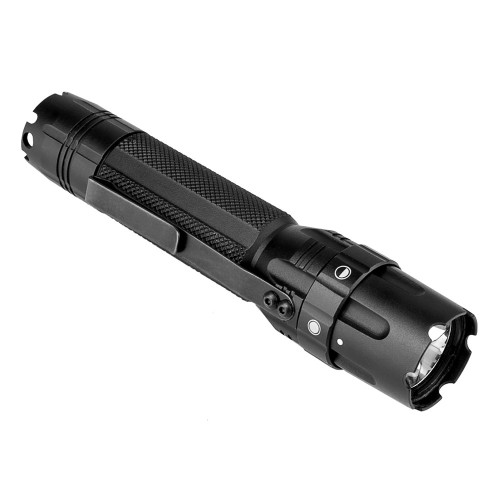 Pro Series Flashlight Mod2/ 3w 500 Lumen/ Modes: High - Low - Strobe/ Rail Mount