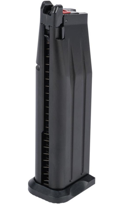 EMG / Salient Arms International 30 Round Magazine for SAI RED-H Gas Airsoft Pistol (Color: Black / Green Gas)