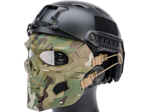 Matrix Skull Messenger Face Mask (Color: Multicam)