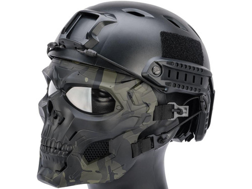 Matrix Skull Messenger Face Mask (Color: Multicam Black)