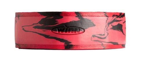 Winn Superior Overwraps Non-Slip Fishing Rod Wrap (Type: Slim / Red-Black)