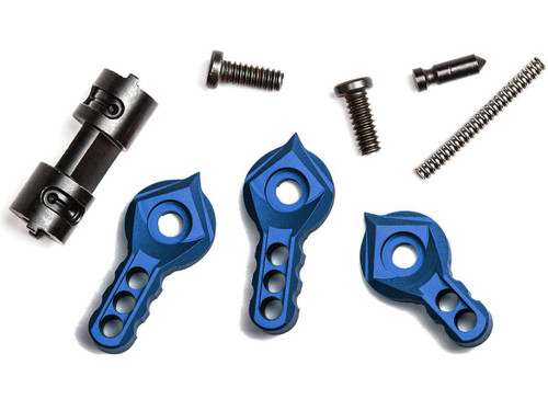 F-1 Firearms Ambidextrous Safety Selector Kit (Color: Blue)