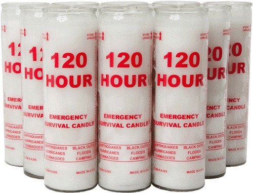 CMS 120 Hour Emergency Candle - 1 Candle