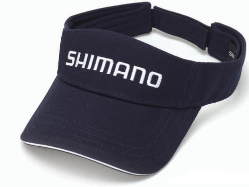Shimano Adjustable One Size Fits Most Ripstop Visor (Color: Navy Blue)
