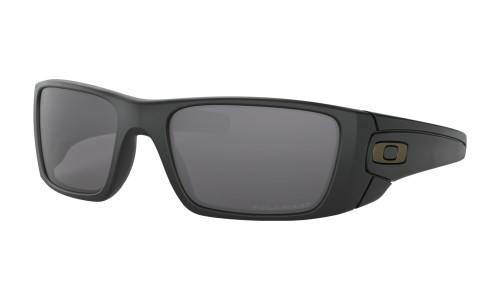 Oakley Men's FuelCell Sunglasses - Matte Black w/ Grey Polarized