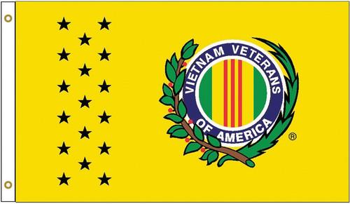 Vietnam Veteran Flag Yellow