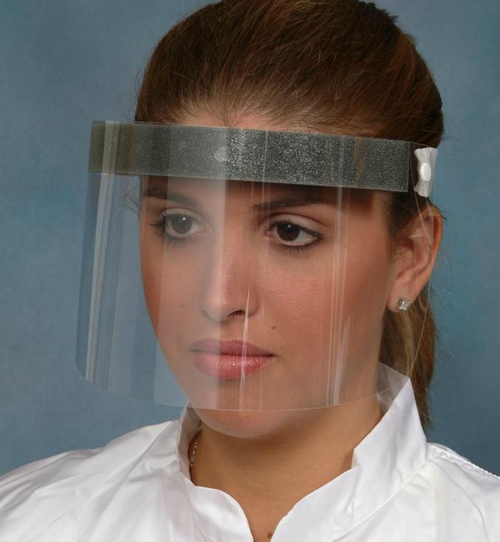 Mid Length Disposable Face Shields