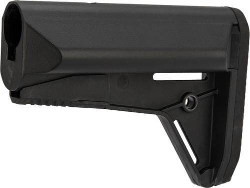 CYMA Retractable Battery Storage Stock for M4 / M16 Series Rifles - Black