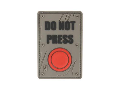 "Maxpedition ""DO NOT PRESS"" PVC Morale Patch (Color: SWAT)"