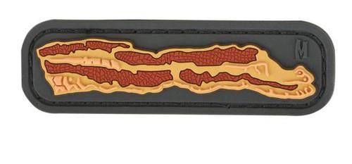 """Maxpedition """"Bacon"""" PVC Morale Patch (Color: SWAT)"""