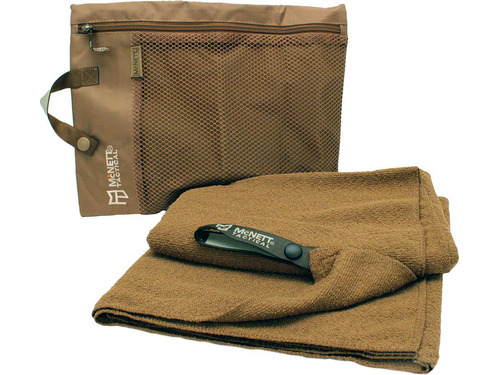 McNett Ultra Compact Microfiber Towel (Color: Coyote / Large)