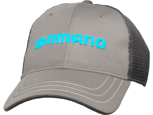 Shimano Honeycomb Mesh One Size Fits Most Cap (Color: Gray)