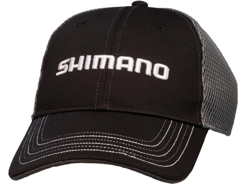 Shimano Honeycomb Mesh One Size Fits Most Cap (Color: Black)
