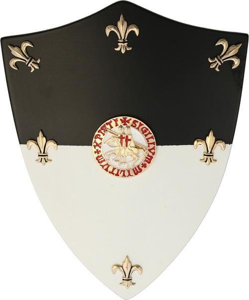 Knights Templar Mini Shield