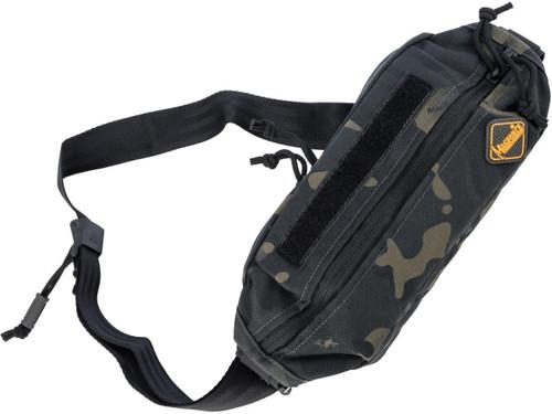 MagForce City Traveler Waistpack Small (Color: Black Camo)