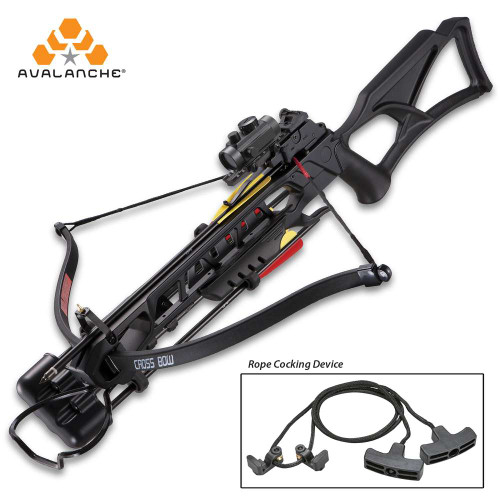 Avalanche Anaconda Recurve Black Crossbow