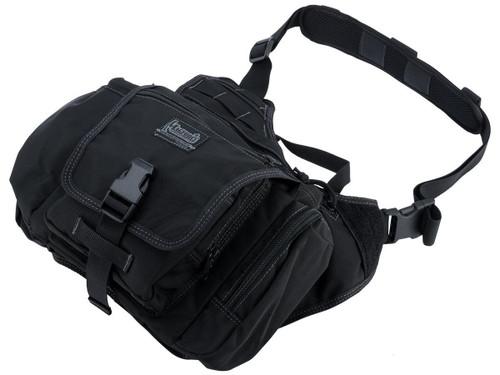 MagForce Saddledom Sling Bag (Color: Black)
