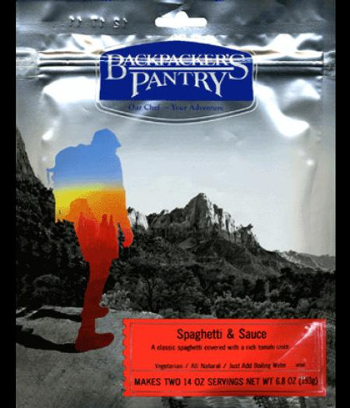 Backpacker's Pantry Spaghetti & Sauce - 6 Pack